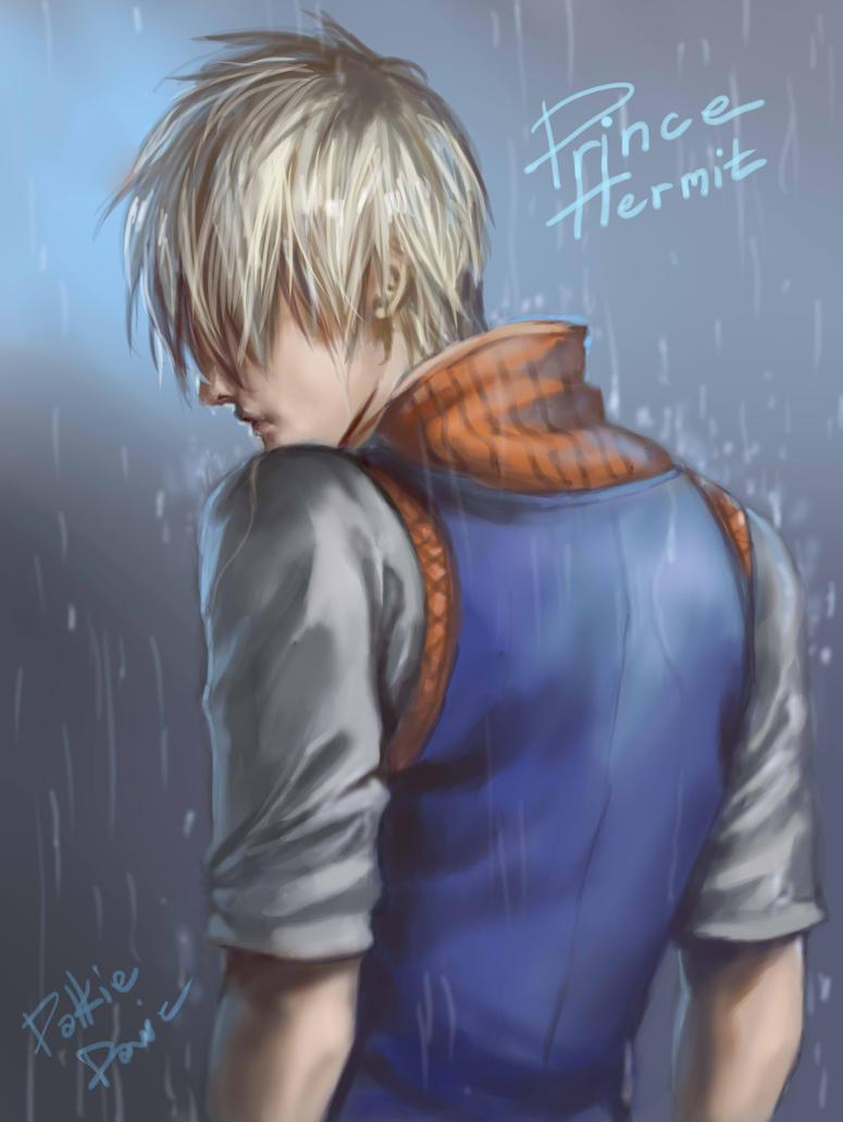 Man in The Rain by davidmccartney
