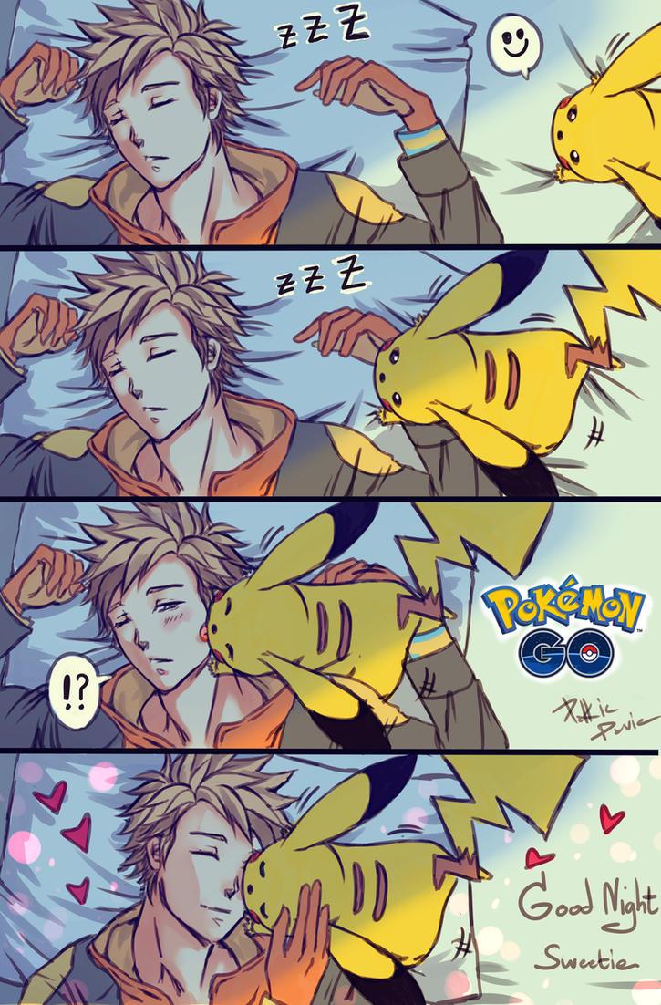 Pokemon Go - Bed time Story by davidmccartney