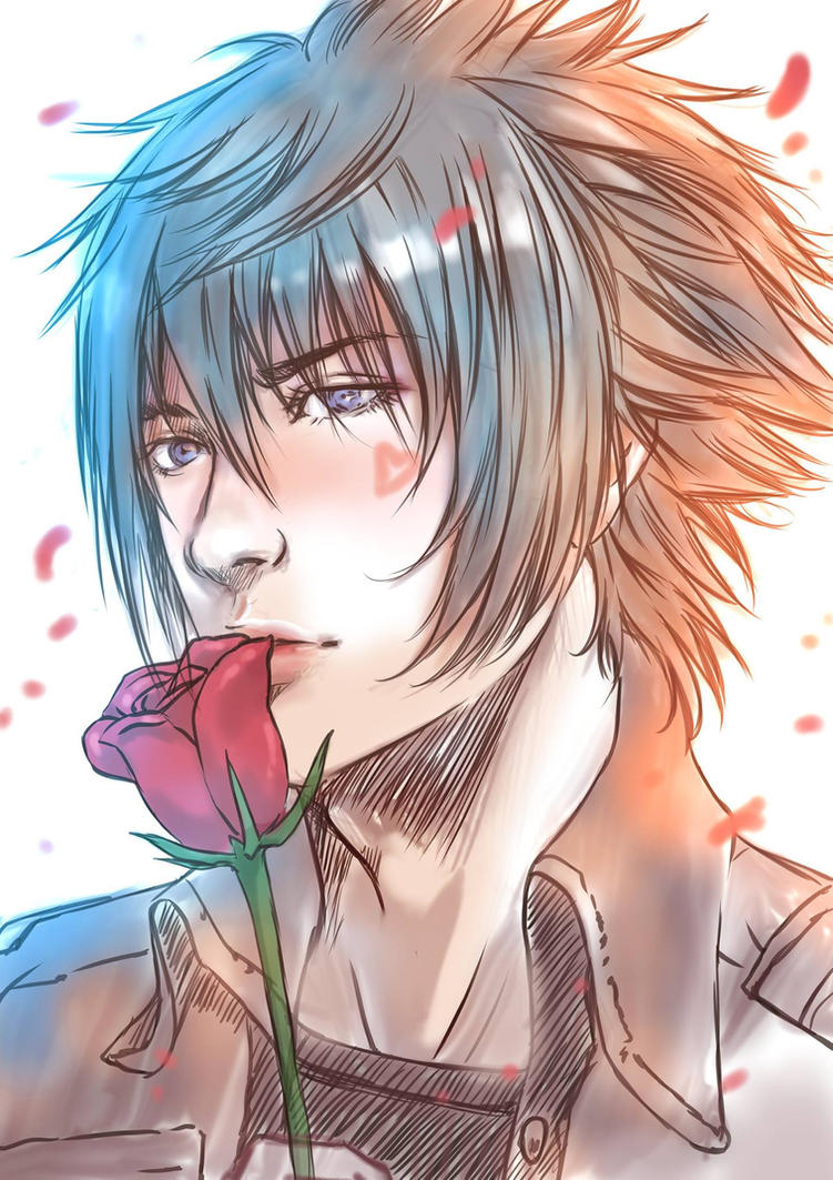 Noctis - Valentine's day by davidmccartney