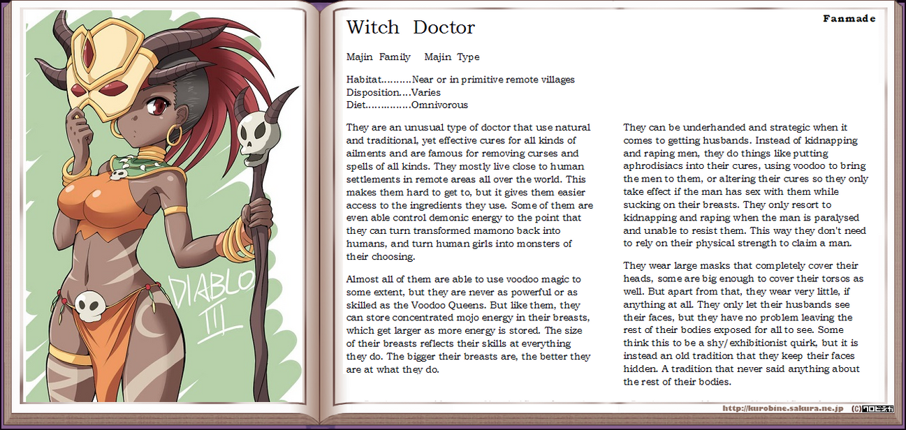 Witch Doctor by PirateRaider