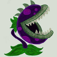 Plants vs Zombies: Chomper by IceQueen--