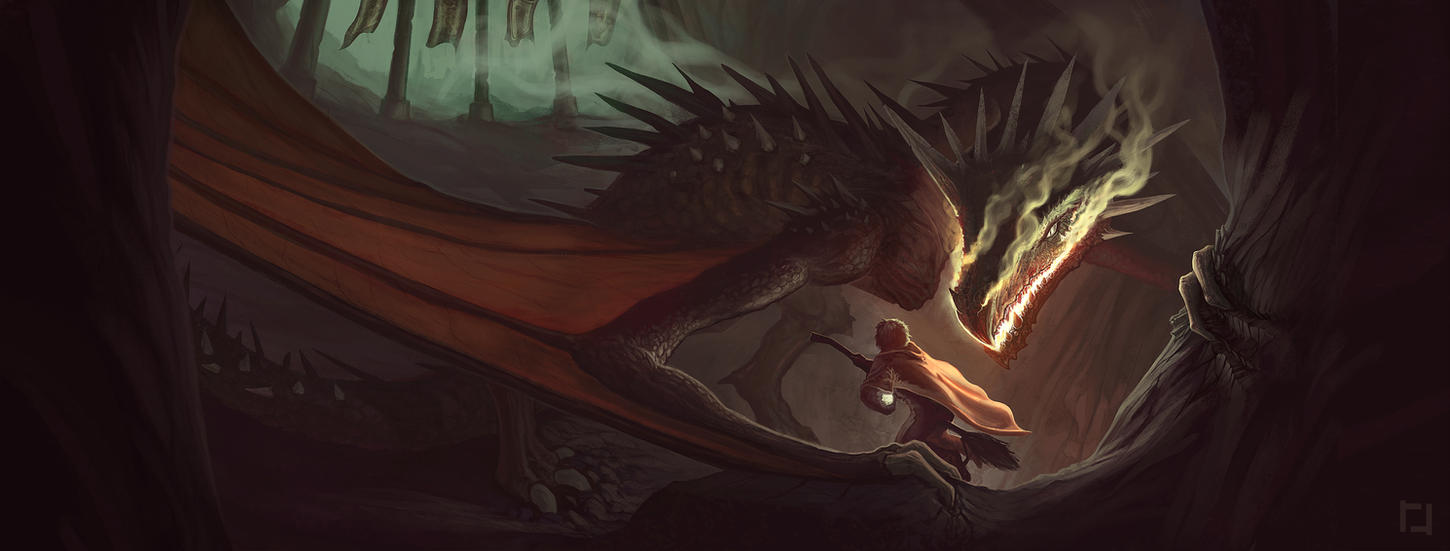 Harry Potter and the Goblet of Fire Wraparound by RyanRichmondArt