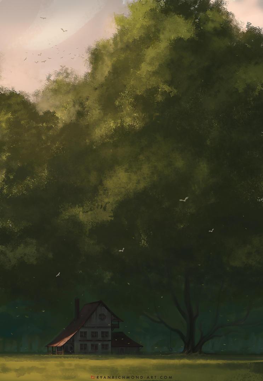 Treehouse: Serenity by RyanRichmondArt