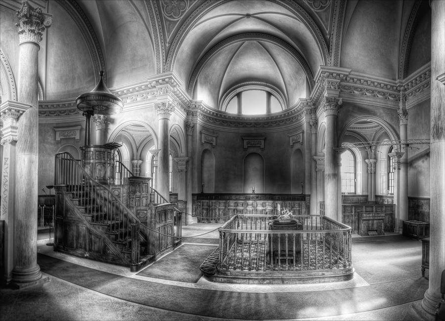 Gibside Chapel - HDRi - Pano - Mono by Wayman