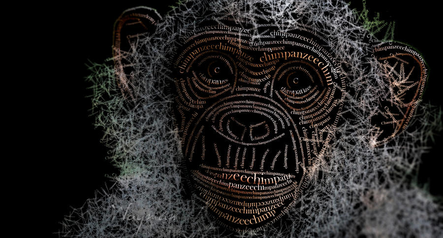 Chimpanzee by Wayman