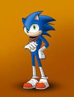 Sonic by LandonBridge