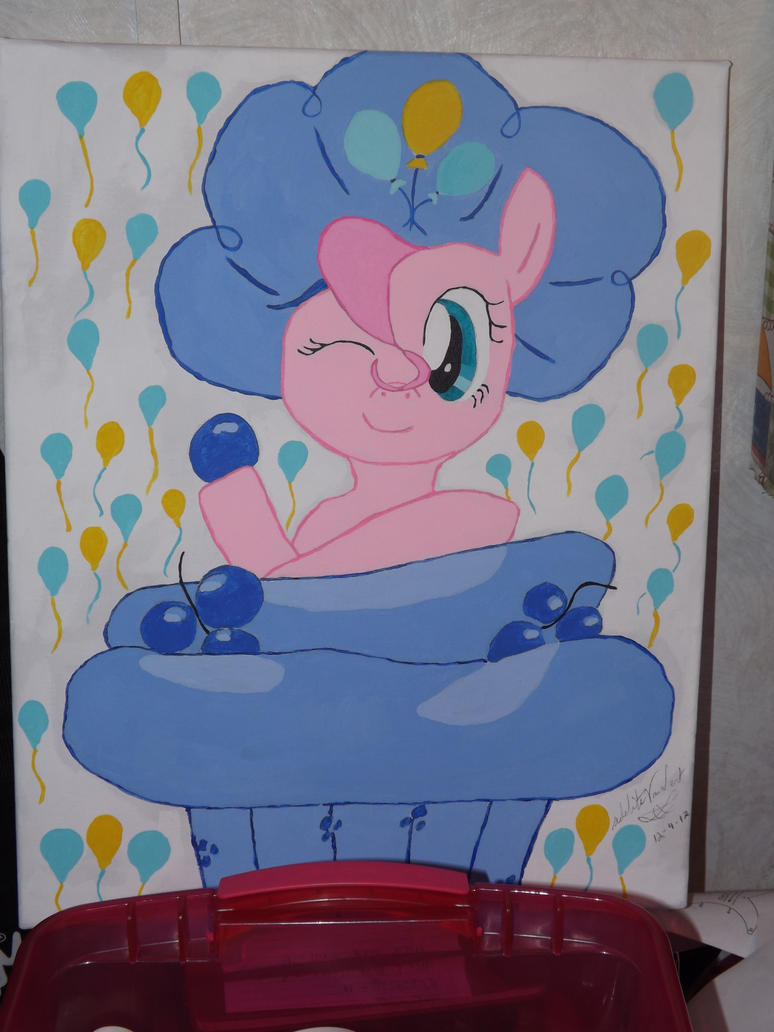 Pinkie Pie painting by Texalma