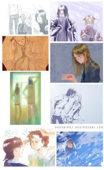 Tumblr doodles WHR