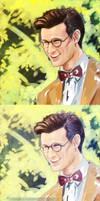 Glasses on by oKaShira2