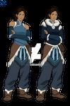 Avatar: The Legend of Korra - Korra by ag121798