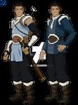 Avatar: The Last Airbender - Adult Sokka by ag121798