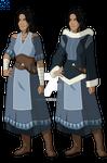 Avatar: The Legend of Korra - Kya by ag121798