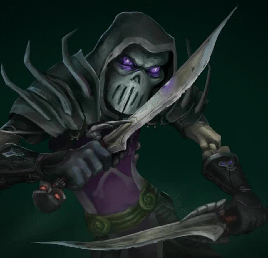 Warcraft Rogue Animated Splash Art By Bering On DeviantArt