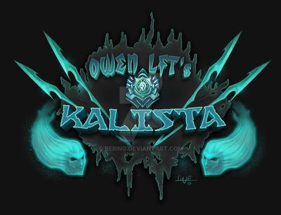 League of Legends Crest #01  - Kalista by Bering
