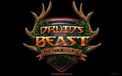 Logo for Druids of the Beast by Bering
