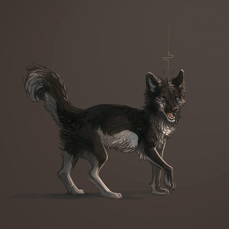 Mooncry Campfire Doggie_by_talkis-d6kz4wa