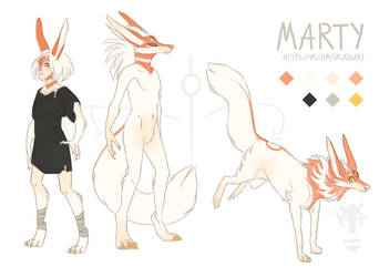 Marty reference sheet