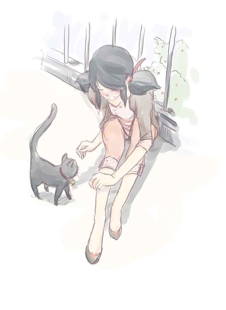 come here kitty by Kogla