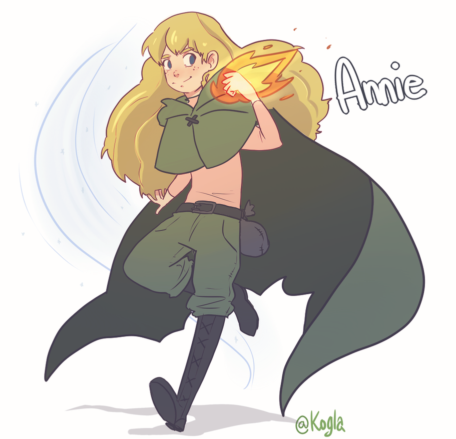 The Green Glow - Annie by Kogla