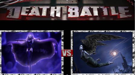 Raven (DC Comics) vs Carnival (Deepgate Codex) 2 by masterofhorr