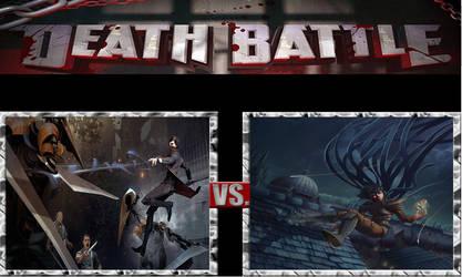 Death Battle-Emily Kaldwin vs Vin Venture by masterofhorr