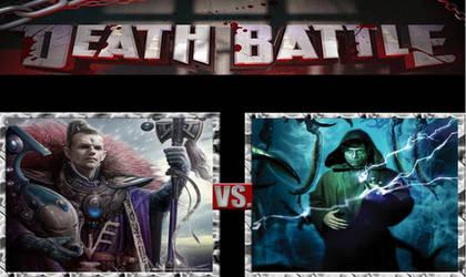 Death Battle- Eldrad Ulthran vs Luke Skywalker by masterofhorr