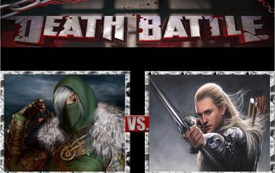 Death Battle  Kerillan  vs Legolas by masterofhorr