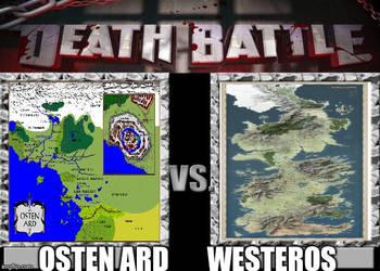 Osten Ard vs Westeros by masterofhorr