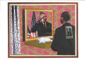 Saluting the President by yabanji