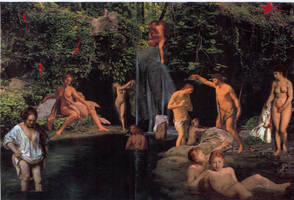 At The Pool by yabanji