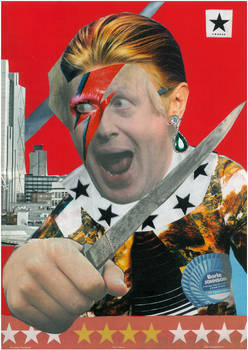 BOWIE-FAN LONDON MAYOR BORIS JOHNSON