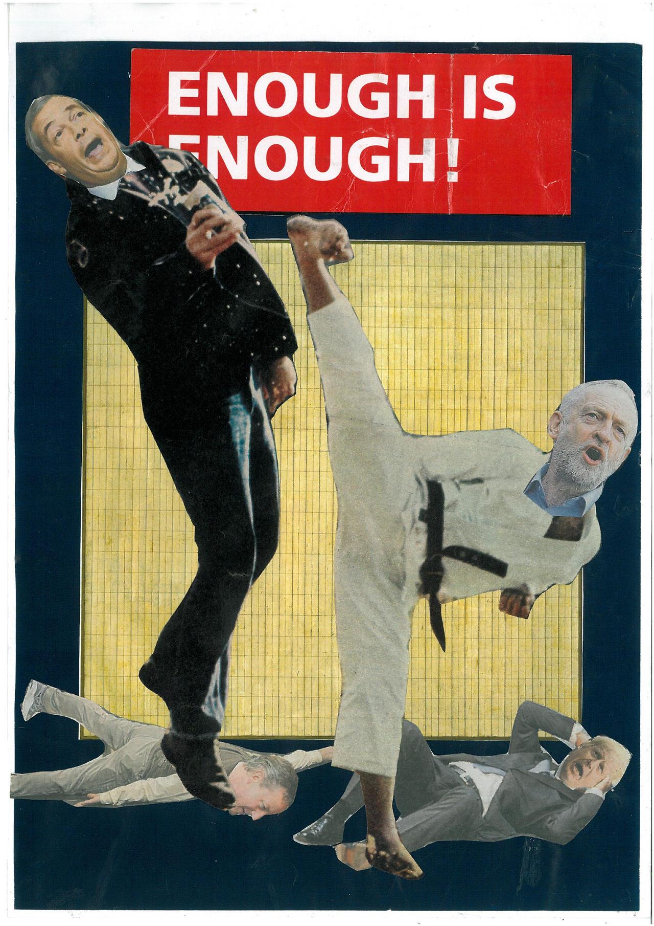 Corbyn Cracks by yabanji