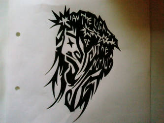 Jesus tat - I Am The Light... by St8art