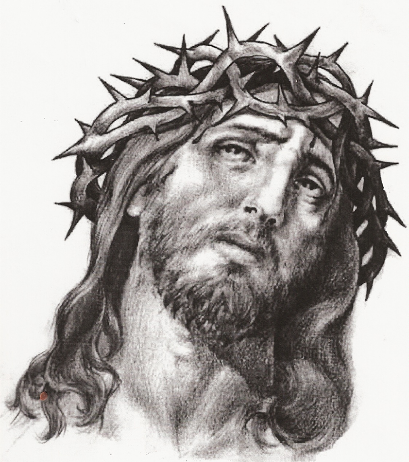 Jesus Sketch By St8art On DeviantArt