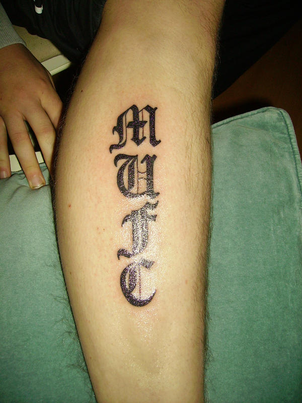 top mufc tattoo designs images for pinterest tattoos. Black Bedroom Furniture Sets. Home Design Ideas