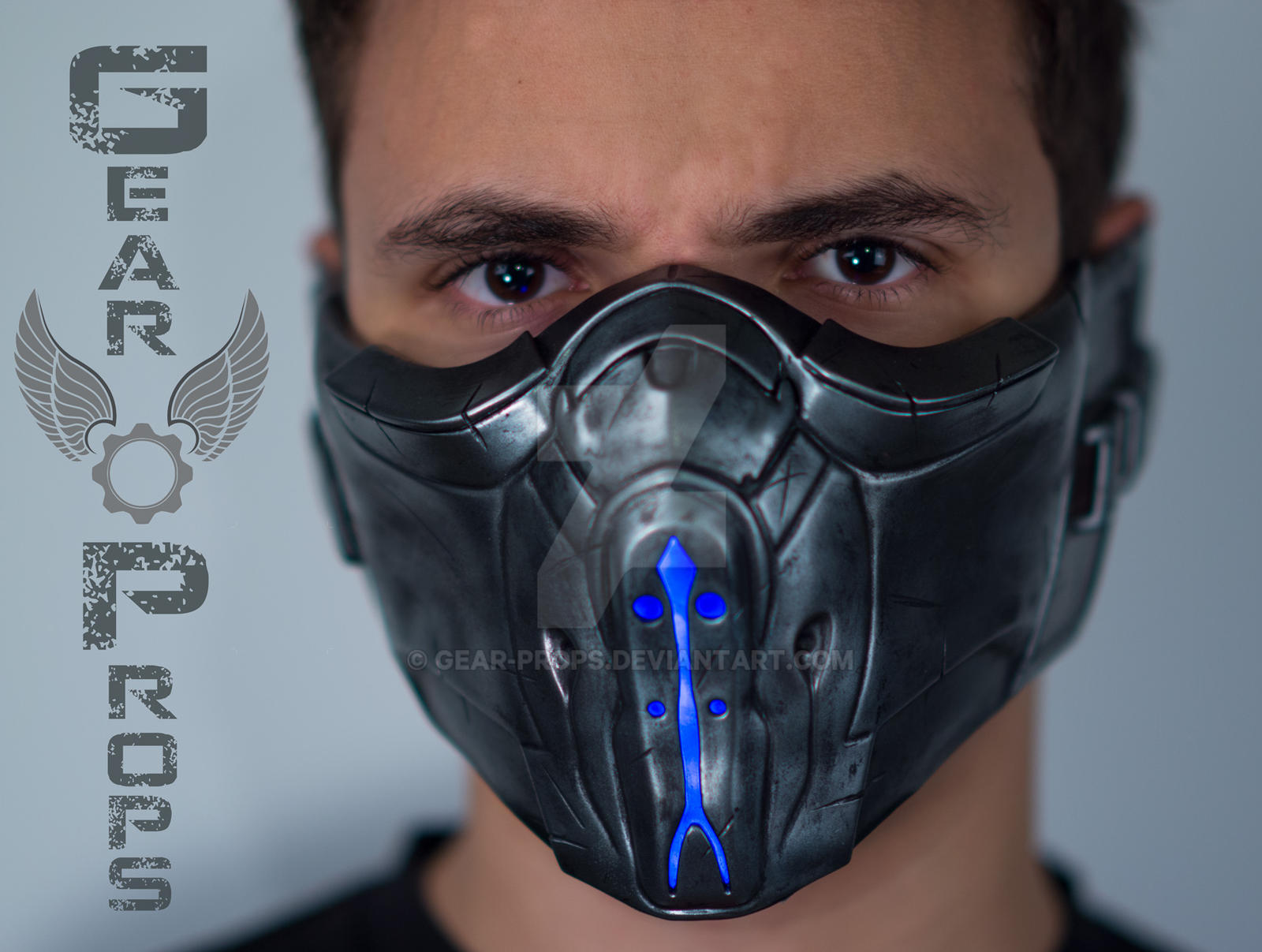 Sub-Zero Mask from Mortal Kombat X (Gear Props) by Gear ...