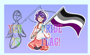 PRIDE FLAG YCH!! [CLOSED] (3$)