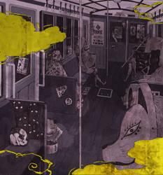 Monster's train by kubo-isako