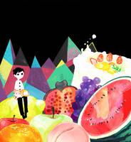 fruit by kubo-isako