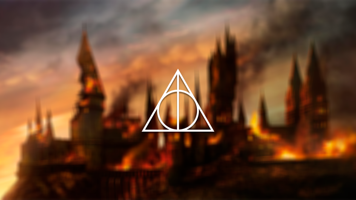 wallpaper deathly hallows harry potter by suzigan96 on