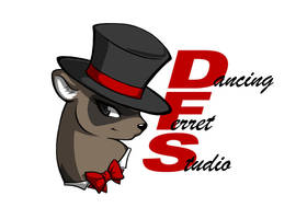 Dancing Ferret Studio Logo