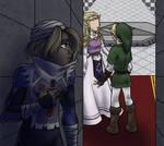 Link, I am Zelda
