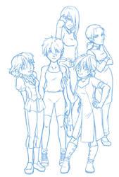 Gundam Wing Rule 63 by TGP