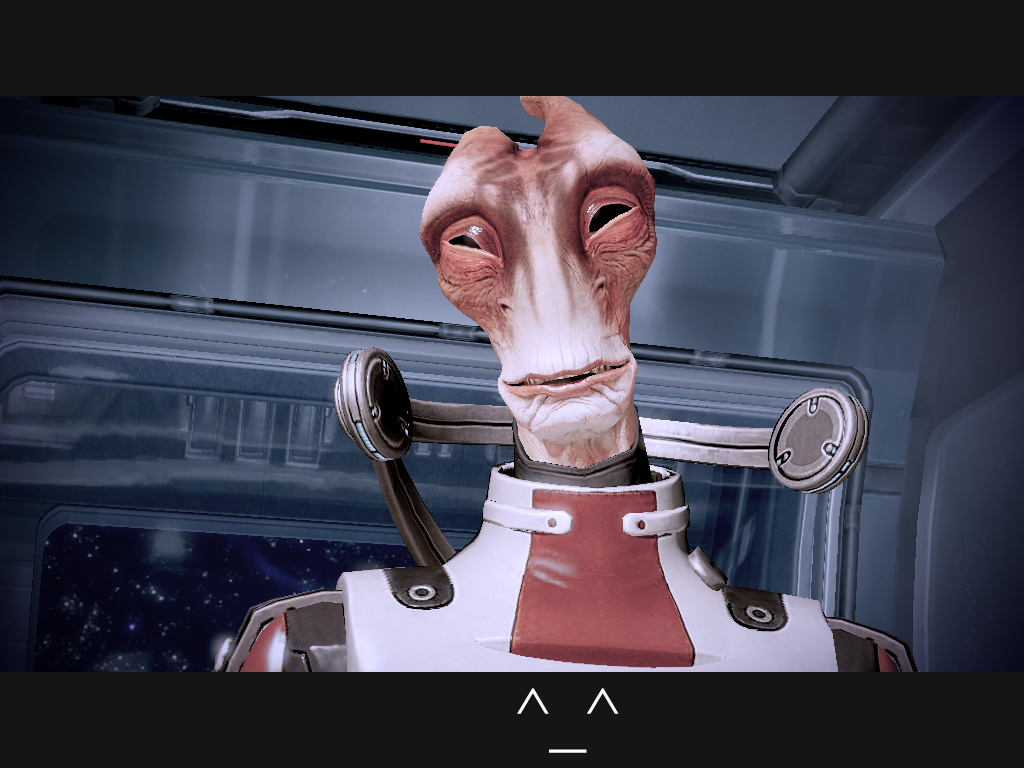Mass Effect 2 - Happy Mordin by Homicide-Crabs