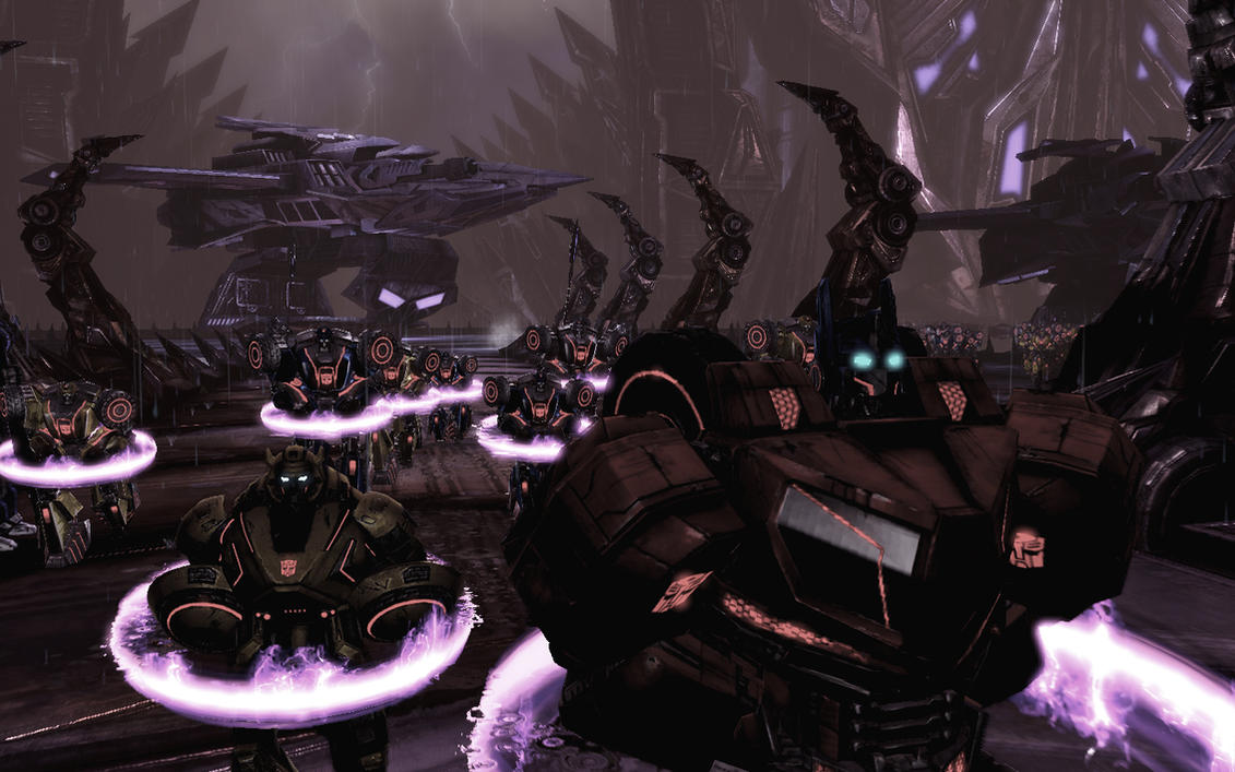 Autobots in Kaon by Homicide-Crabs