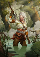 Ciri (The Witcher 3: Wild Hunt) by WretchedIAN