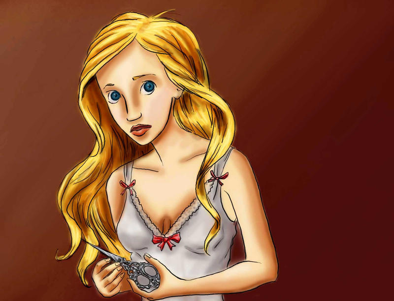 Christine's Scissors... by bananaboo2