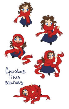 Christine Likes Scarves