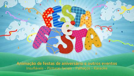 Festa e Festa logo + biz card by DjSlide