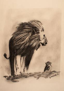 lions (quickie)... sketch
